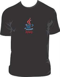"""Estampa de Camisa Vetorizada - """"Linguagem Java"""""""