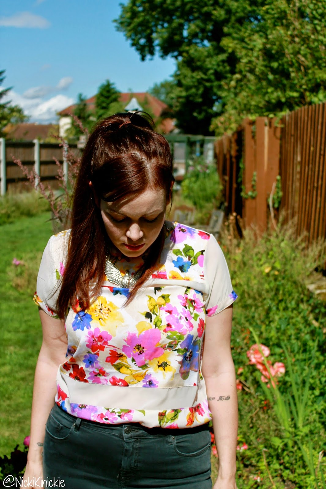 Choice Discount, Floral top, Fashion Blog, Review