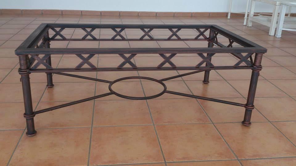 El portal del aljarafe mesas de camilla en forja y mesas - Mesas de forja en sevilla ...