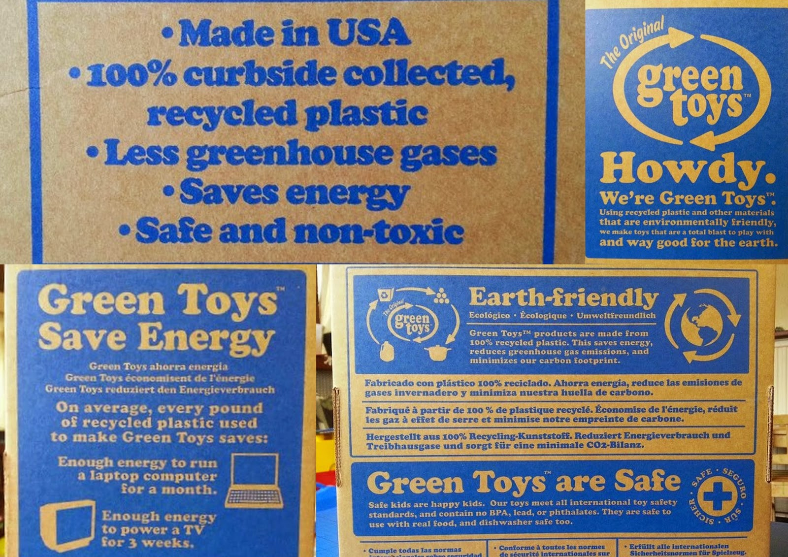Green Toys Recycled Plastic Cookware And Dining Set pack information