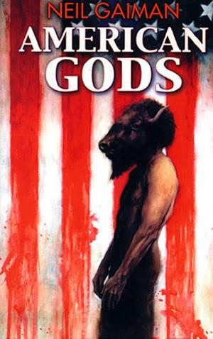 American Gods Portada Libro Neil Gaiman fotogramailustrado