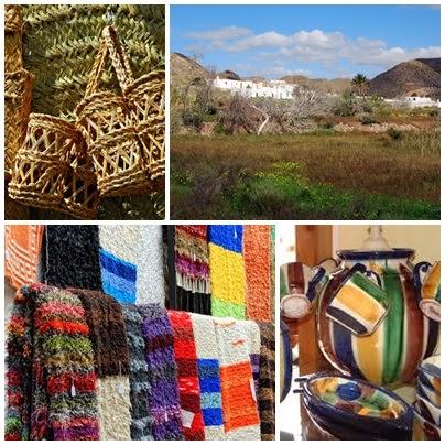 artesanía de Nijar (Almeria)