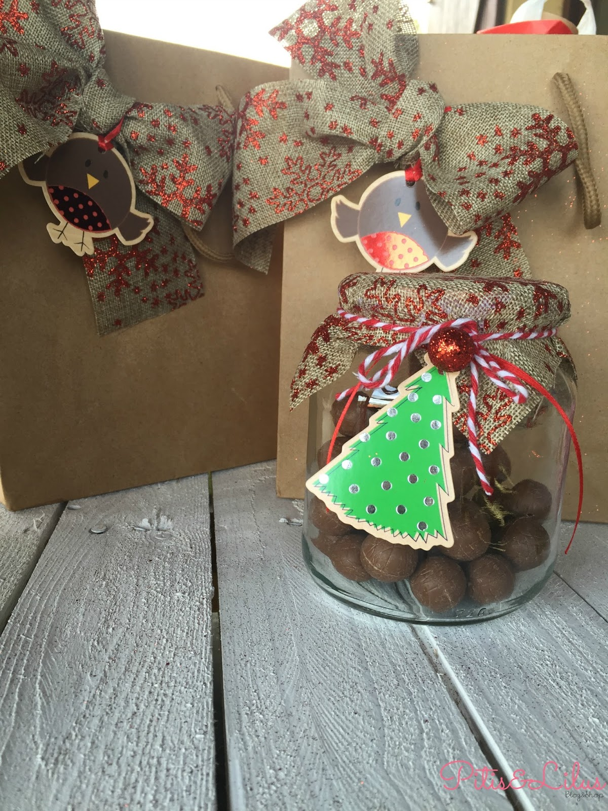 Diy detalles navide os sencillos y handmade para regalar for Detalles para navidad