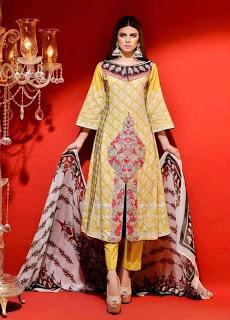 Summer Lawn Dresses By Hadiqa Kiani