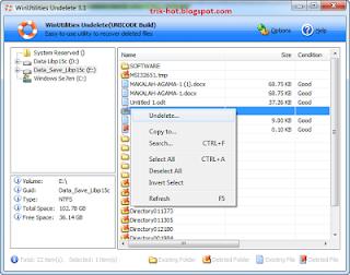 Cara Mengembalikan File Yang Terhapus Permanen Hard Drive, Flashdisk