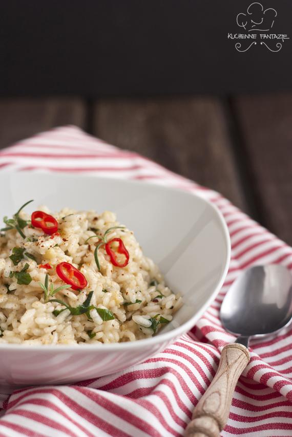 risotto, przepis, przepisy, pikantne, proste, warzywne, wegetariańskie, łatwe,