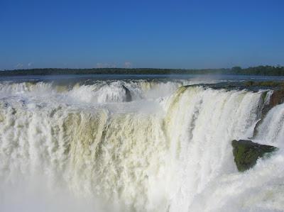 La garganta del diablo, en las cataratas del Iguazú