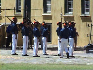 Guards Key Ceremony Castle Good Hope Cape Town South Africa