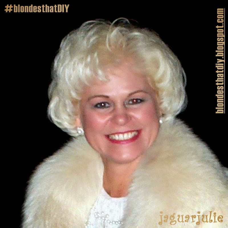 I am JaguarJulie one of the #blondesthatDIY