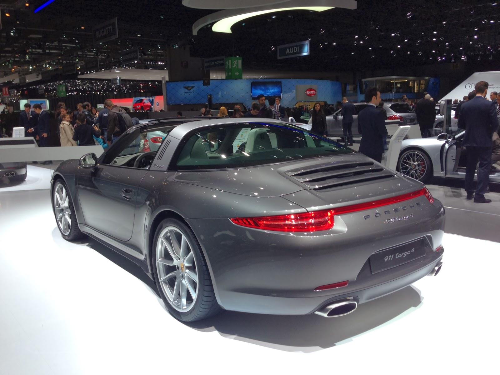 Porsche 911 Targa at Geneva Motor Show