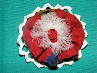 brosa handmade macrame unicat crosetata