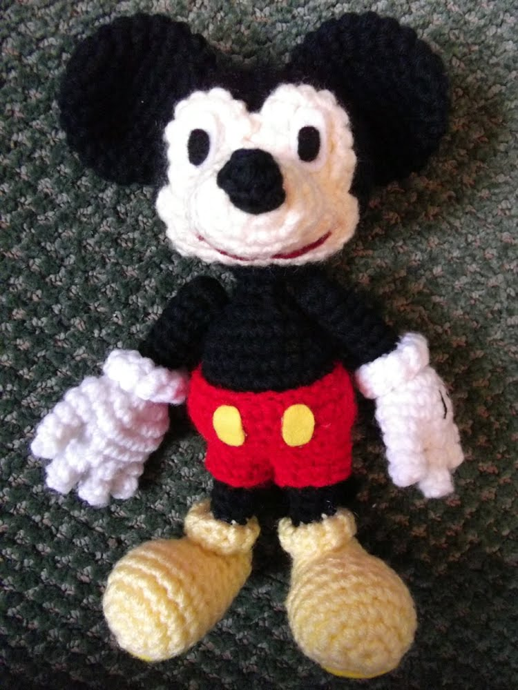 Mule N Nag Crafts Mickey Mouse Amigurumi
