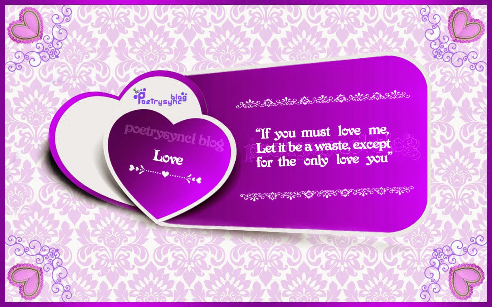 Purple Quotes Love Quotes For Love Time With Pictures In Purple Colour Vol9