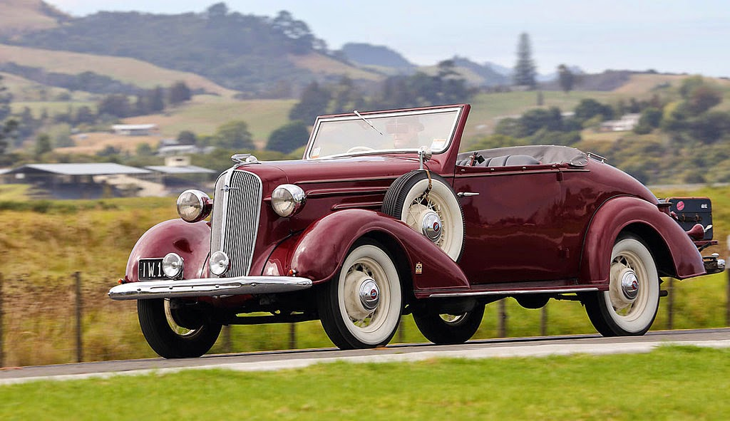 OLD INDONESIAN VEHICLES: 1936 Chevrolet Standard Convertible