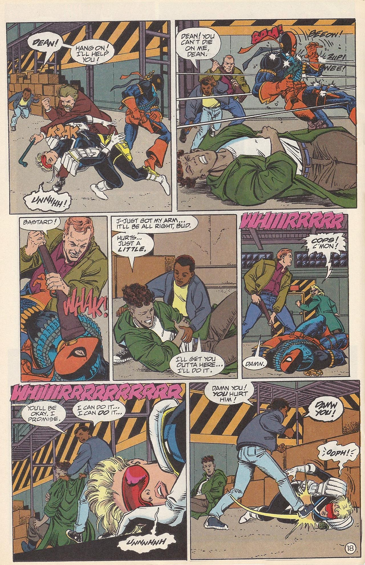 Deathstroke (1991) Issue #10 #15 - English 22