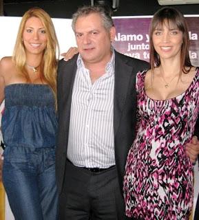 Delly Madrid con Mariella Patriau y Alamo Perez Luna