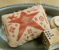 Star Light Sampler Pincushion -  $7.50