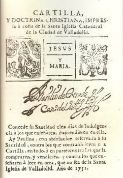 CARTILLA Y DOCTRINA CRISTIANA