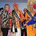 Suporter di Pemilihan Bujang Dara Provinsi Riau 2015