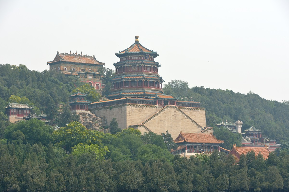The Tower of Buddhist Incense at the Summer Palace