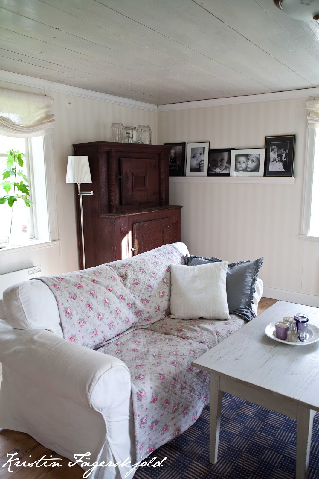 I mitt paradis: vardagsrum med molly