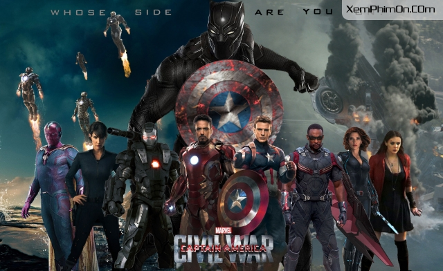 Captain America: Nội Chiến - Captain America: Civil War