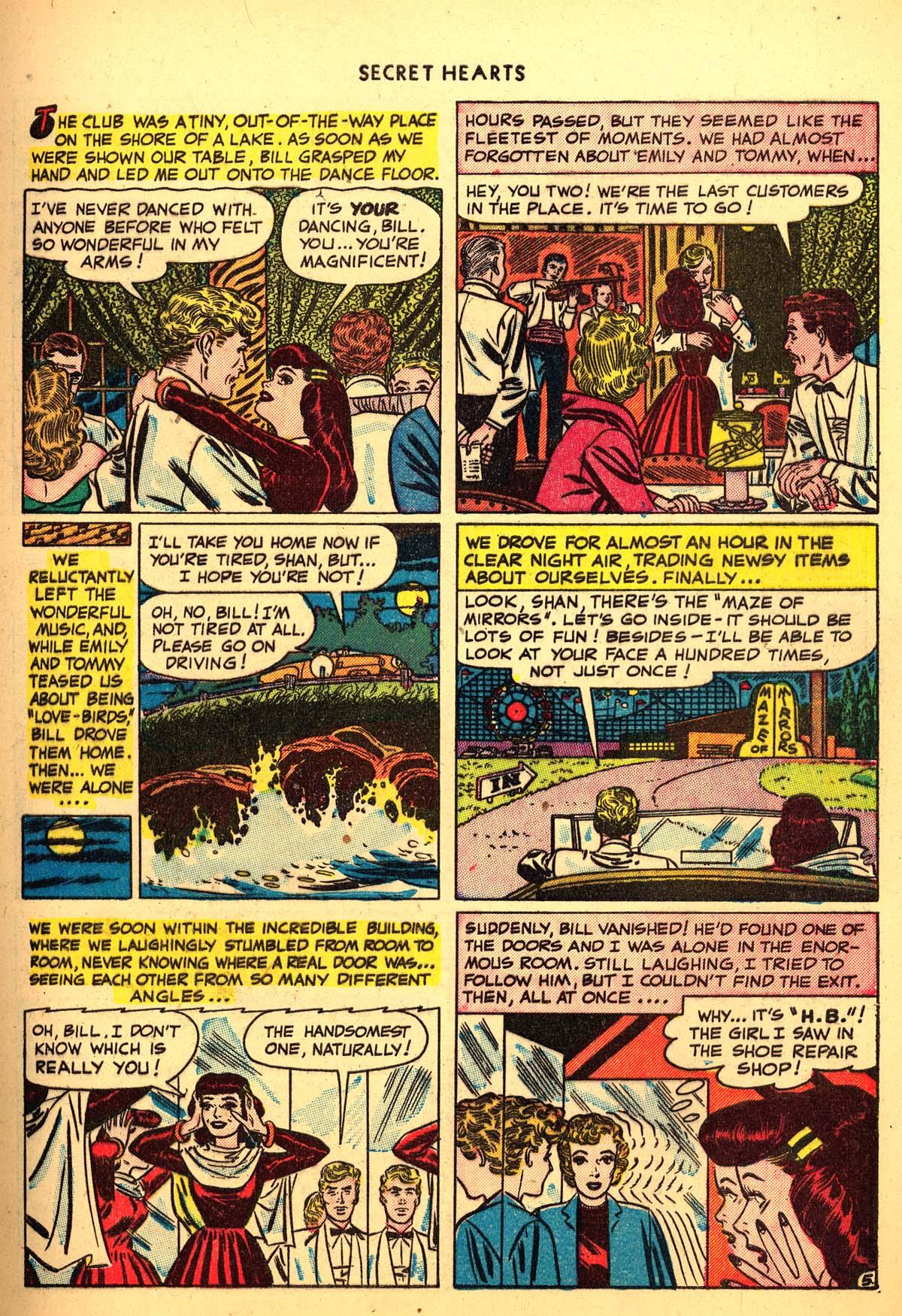 Read online Secret Hearts comic -  Issue #4 - 7