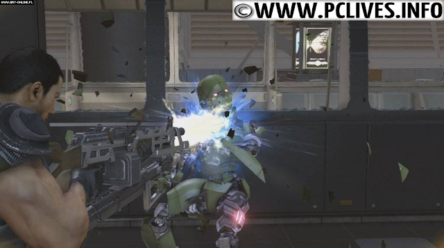 download full and free pc game Binary Domain 2012