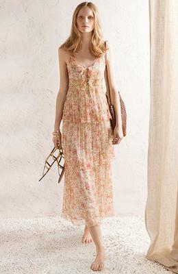 vestido largo primavera verano 2011 Massimo Dutti