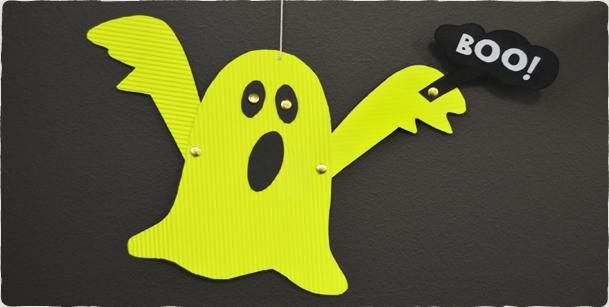 Fantasma Flutuante - Halloween - decoração para o dia das bruxas