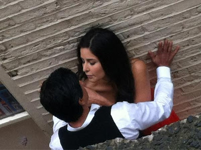 Katrina Kaif and SRK Romantic Photos from Yash Chopra's Next movie