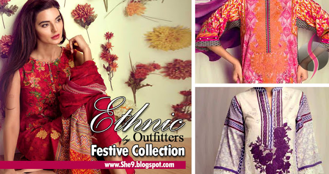 Ethnic-Outfitter Festive Lawn Collection 2015