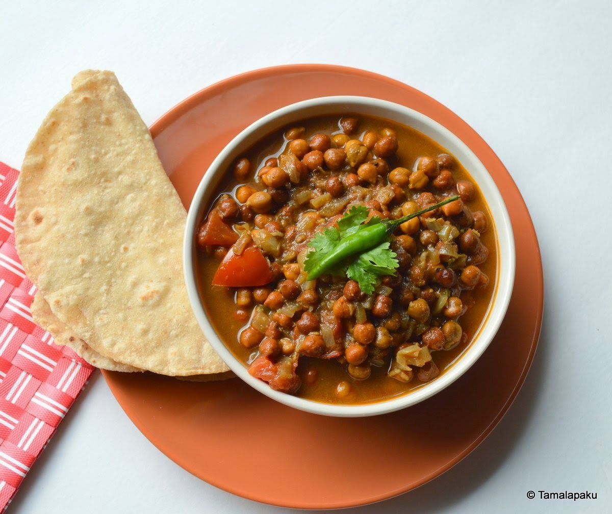 Kala Chana Chole - 2