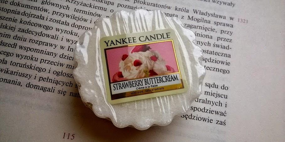 [Yankee Candle] Śmietankowo-truskawkowo