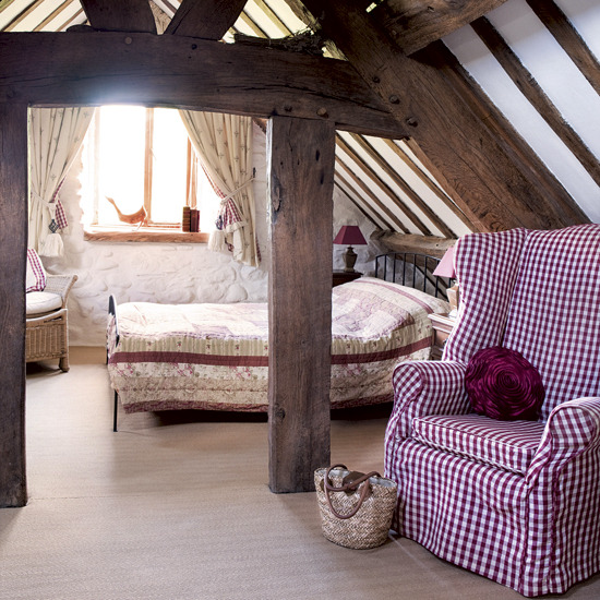 Elegant country bedroom for Cozy country bedroom ideas