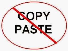 Jangan Copy Paste