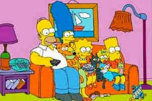 Personajes de Los Simpson… ¡De carne y hueso!