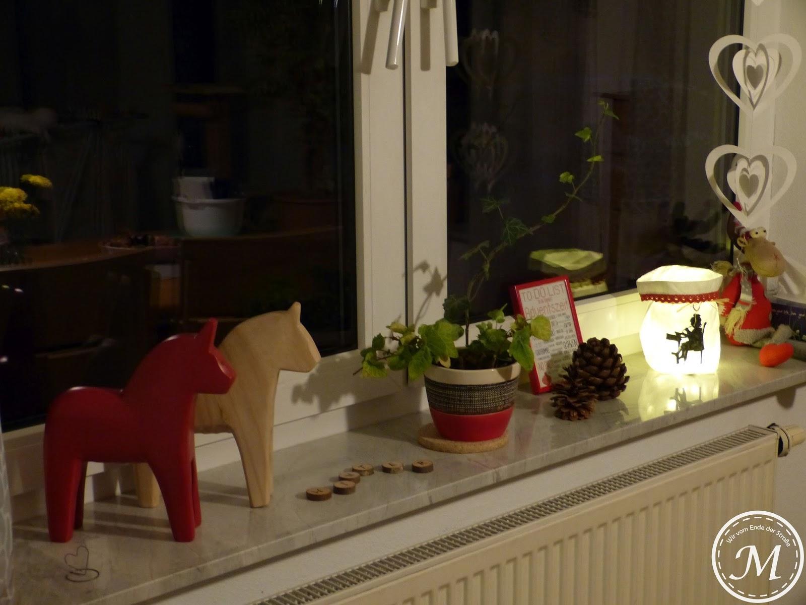 P1100986 Schöne Fensterbank Weihnachtlich Dekorieren Dekorationen
