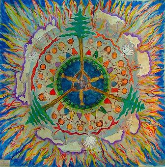 Mandala Planeta Unidade