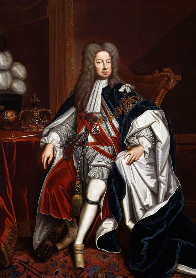 George I by Godfrey Kneller, 1714