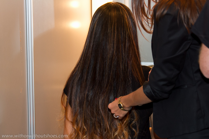 BLogger con Cabello largo y bonito con mechas californianas