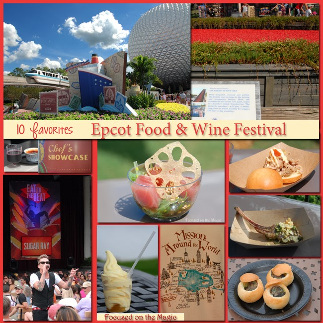 Epcot's Food & Wine Festival at the Walt Disney World Resort.
