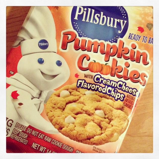 Never Turn Down A Cupcake Pillsbury Pumpkin Cookies