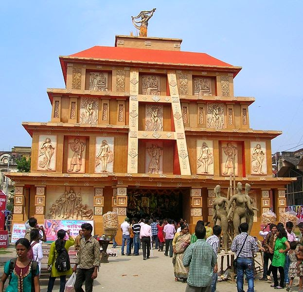 Ramblings of a 70 year old september 2014 school days durga puja and bengalis thecheapjerseys Choice Image