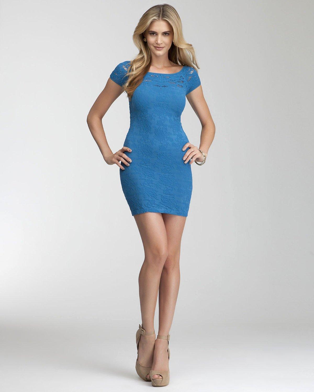 bebe Lace Drama Bodycon Dress | Dresses best