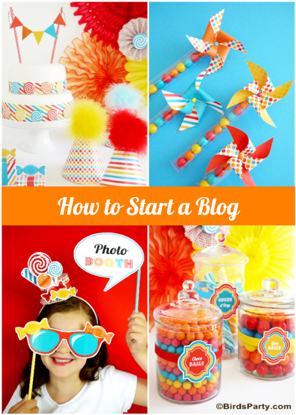 Party printables party ideas party planning party for How to start a craft blog
