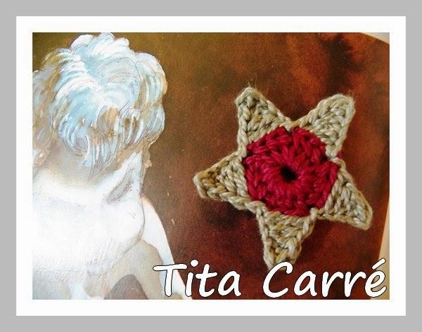 A estrela em crochet e a Lenda do Pássaro Uirapuru