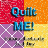 Check out Leah's first fabric line printed by Spoonflower!