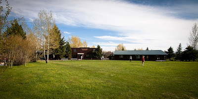 JHBC Jackson Hole Bible College campus sunshine