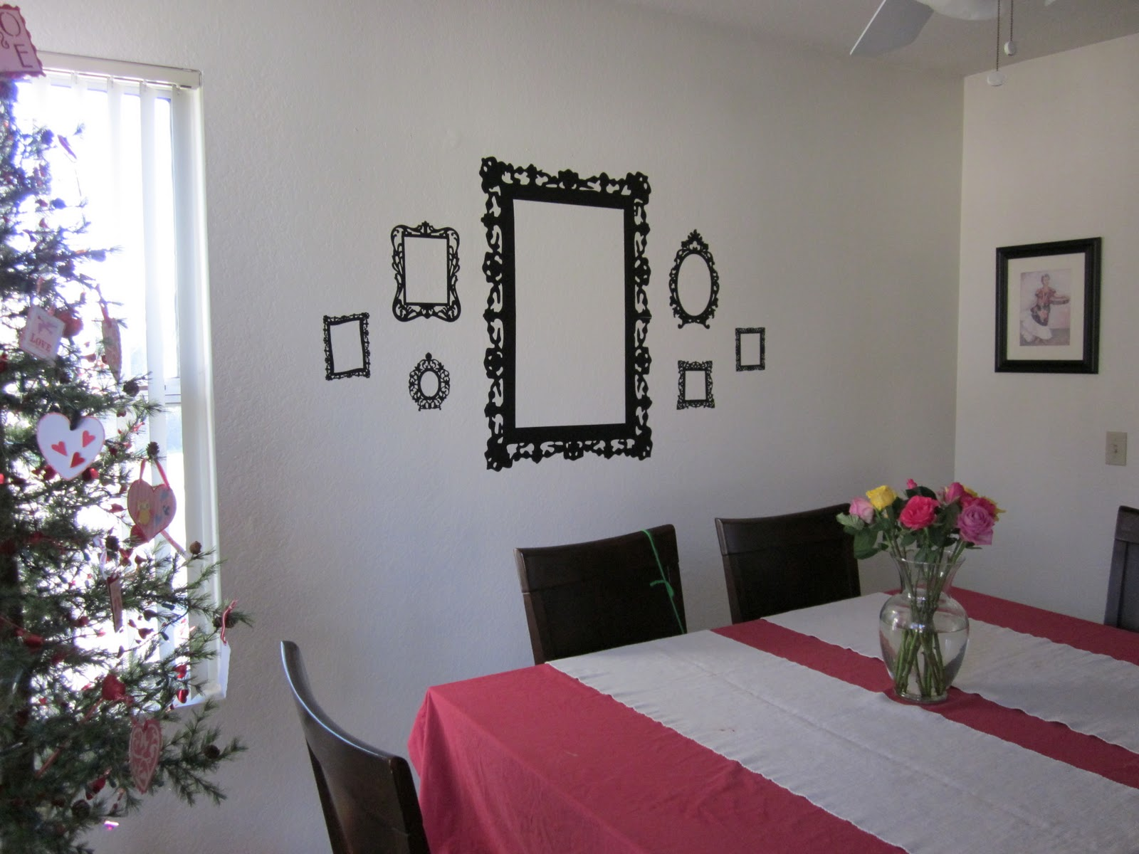 The Shabby Chic Frames Are Upin Dining Room